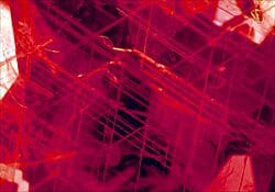 Ruby Treatment Image - Unheated Ruby - Intact Silk inclusions